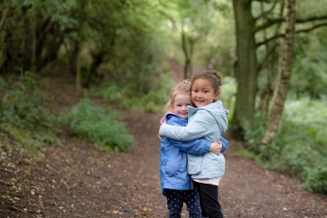 Family Shoot at Barlaston Downs