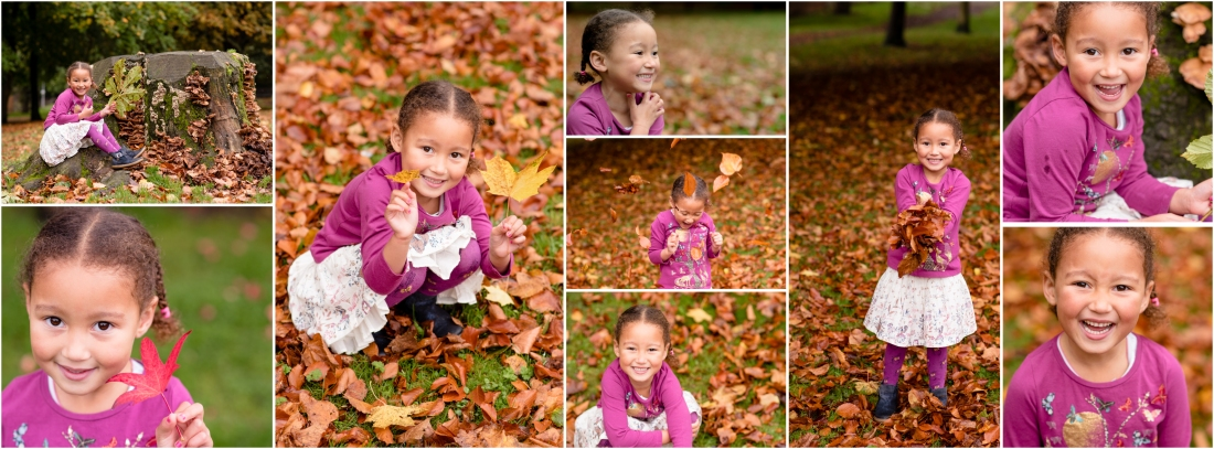 Autumn Mini Photoshoot with Toland Photography at The Bramptons, Stoke on Trent, Staffordshire