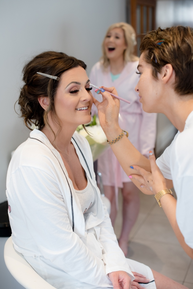 Bridal Prep, Wedding photography by Toland Photography