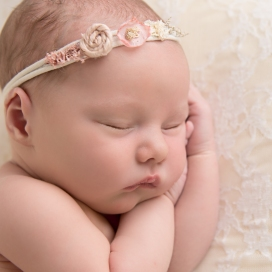 Baby Girl Photo Shoot - Newborn Photography - Toland Photography - Staffordshire