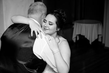 Father and Daughter dance, Moat House Wedding Photography