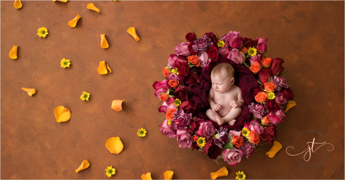 Baby Meagan - Newborn Photoshoot in West London, Captured by Toland Photography
